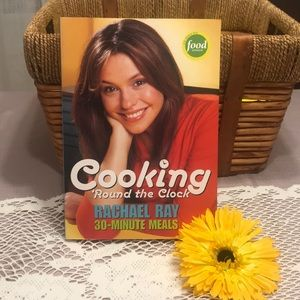 """Book : Cooking """" Round the clock by Rachael Ray"""